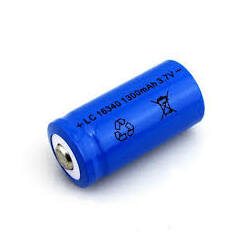 16340 Li-ion akkumulátor  3,7V 2800mAh