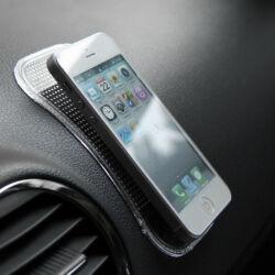 Anti-slip pad telefon/PDA tartó (nagy) -fekete
