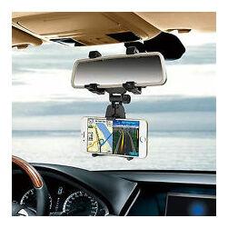 Univerzális, visszapillantó tükörre helyezhető autós tartó