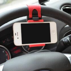 Univerzális autós telefon tartó kormányra