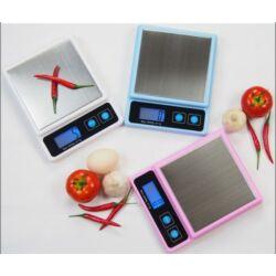 Digitális konyhai mérleg rozsdamentes mérőfelülettel 5 kg-ig  - CS-7023