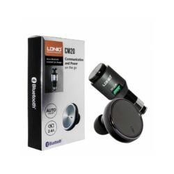 Ldnio CM20 Bluetooth headset és szivargyújtós töltő  2in1!