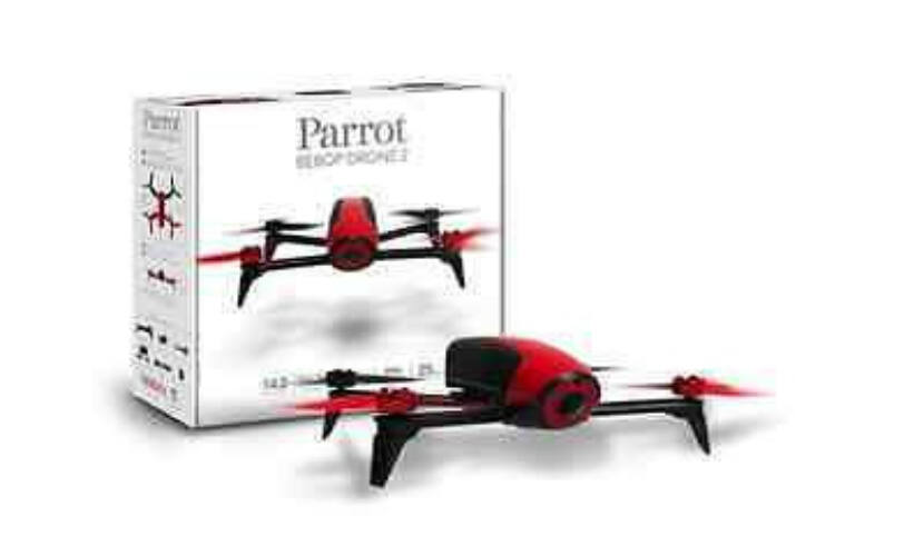 Parrot Bebop 2 Drone - piros