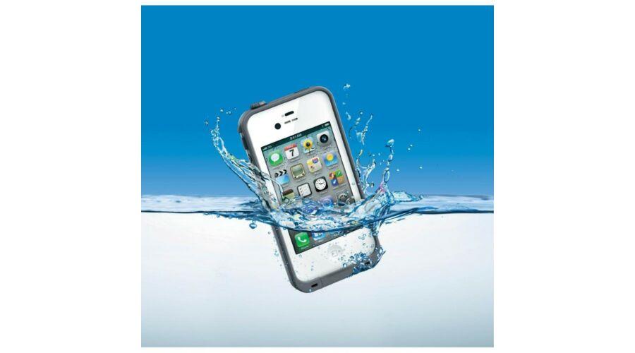 ae25c65bedc2 Víz-, por- és ütésálló tok iPhone 5 - szürke - Kemény tokok, vízálló ...