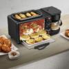 Kép 3/3 - Multifunkciós reggeliző állomás 3in1 (kávéfőző, pirító, grill) MorningStation