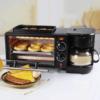 Kép 1/3 - Multifunkciós reggeliző állomás 3in1 (kávéfőző, pirító, grill) MorningStation