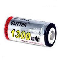16340 Li-ion akkumulátor 3,7V 1300mAh