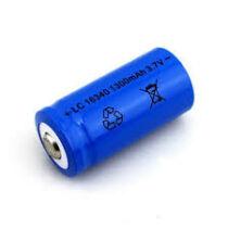 16340 Li-ion akkumulátor  3,7V 1800mAh