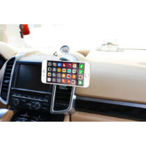 Szellőző rácsra rögzíthető autós telefontartó