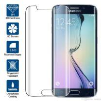 Ultravékony kijelzővédő üvegfólia Samsung S6 Edge