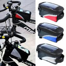 Kerékpáros vízálló telefon tartó + tároló