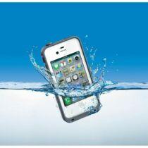 Víz-, por- és ütésálló tok iPhone 5 - szürke
