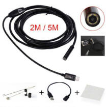 Endoszkóp kamera - android kompatibilis (vízálló) 2m