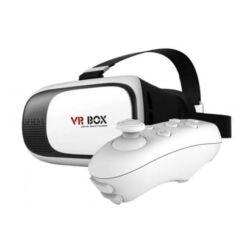 3D virtuális szemüveg + távirányító VR box szett
