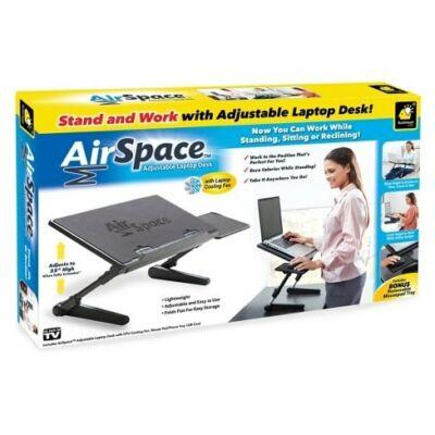 Univerzális laptoptartó asztal + laptop hűtő + egérpad