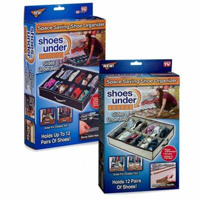 12 rekeszes praktikus cipőtároló Shoes under