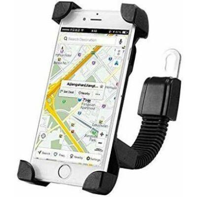 Motoros telefontartó , GPS tartó flexibilis szárral