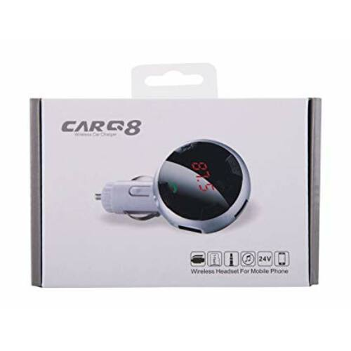 G8 Bluetooth autós FM transzmitter MP3 lejátszó / Kihangosítás