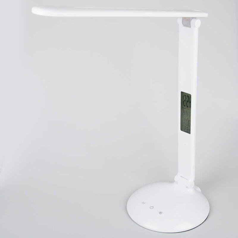 Ledes, asztali lámpa 36 ledes, digitális órával és hőmérséklet mérővel(TGX-7001)