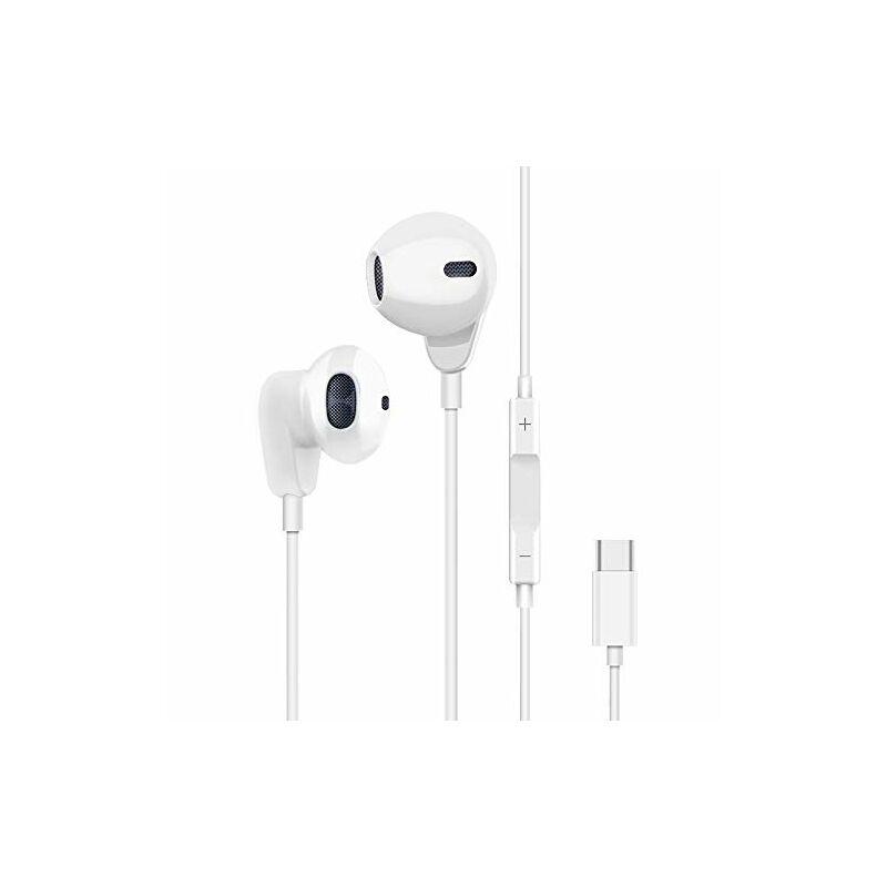 Type-C csatlakozós fülhallgató, headset