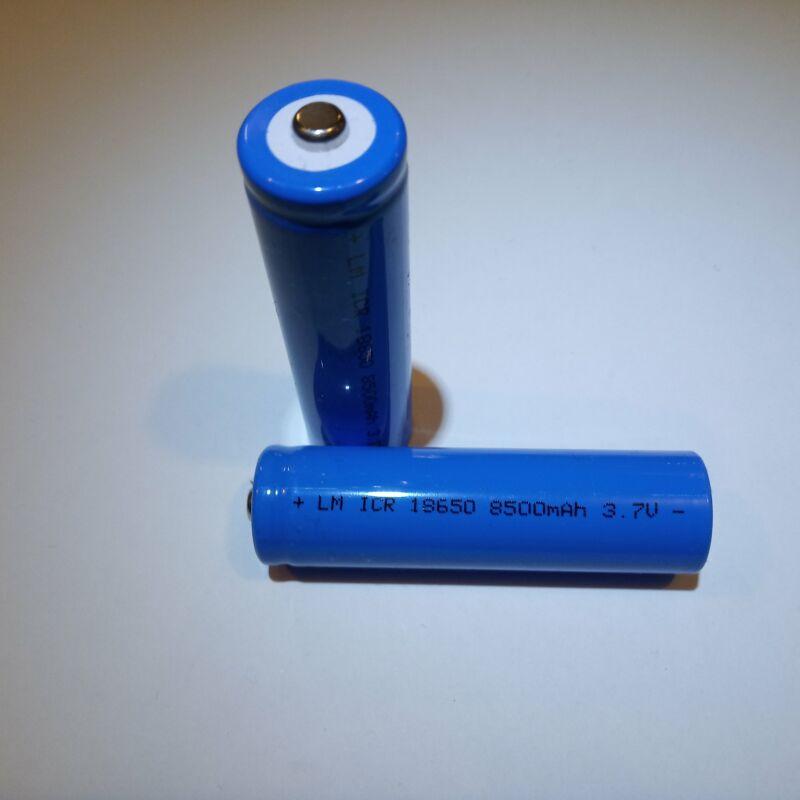 8500 mAh li-ion akkumulátor 3.7V 18650