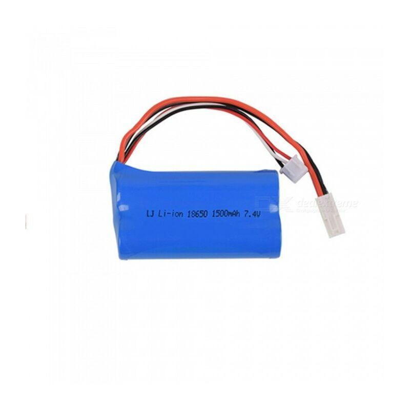 7.4V 1500mAh Li-ion akkumulátor 2 x 18650