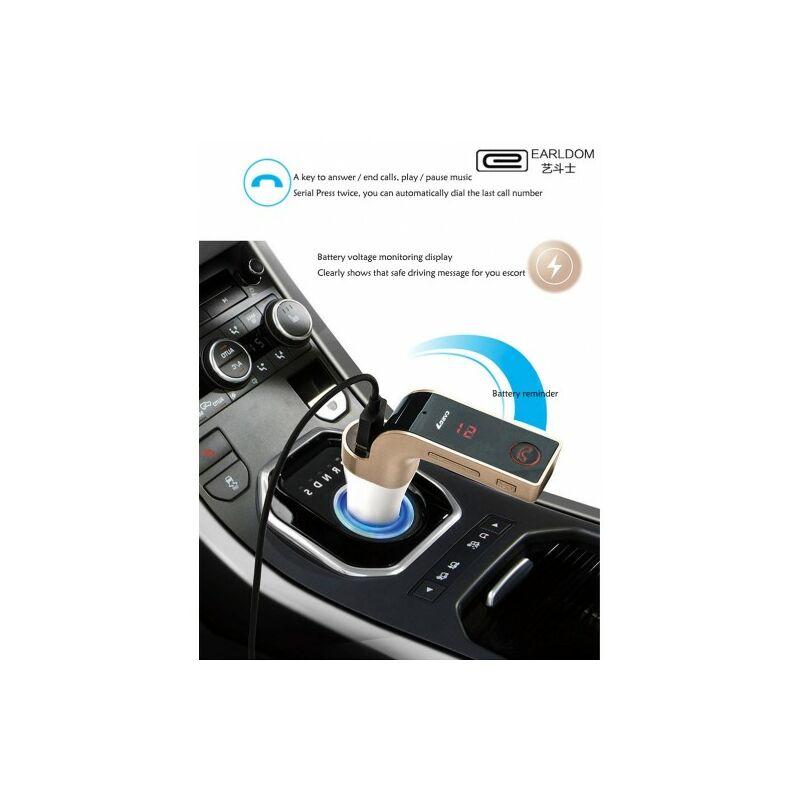Earldom M7 Bluetooth autós FM transzmitter MP3 lejátszó /kihangosító