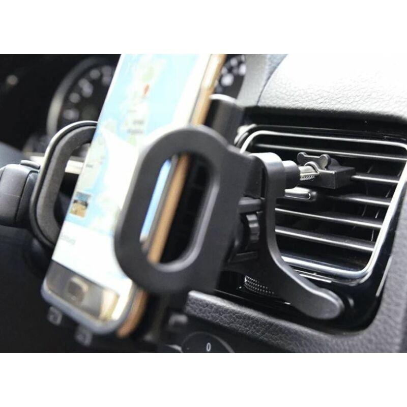 Autós tartó szellőzőrácsra rögzíthető