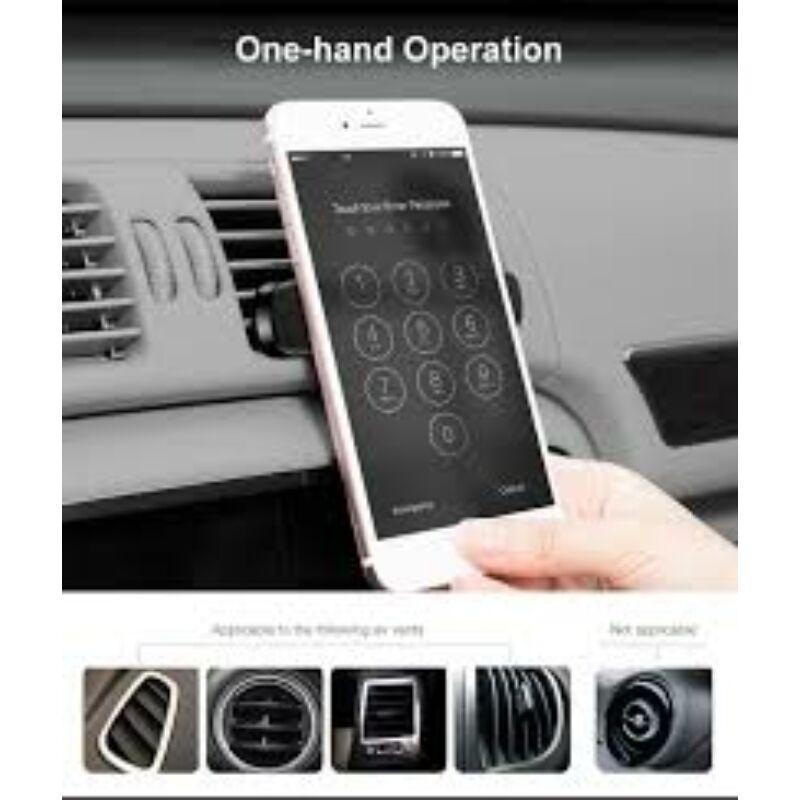 Baseus Double Clip Vehicle Mount  mágneses autós telefon tartó