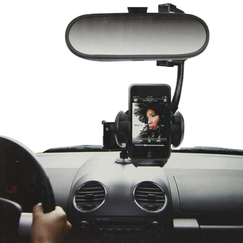 Autós telefon tartó visszapillantó tükörre