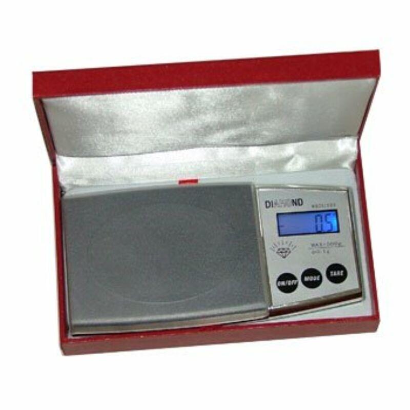 Digitális zsebmérleg-ékszermérleg DiamonD500