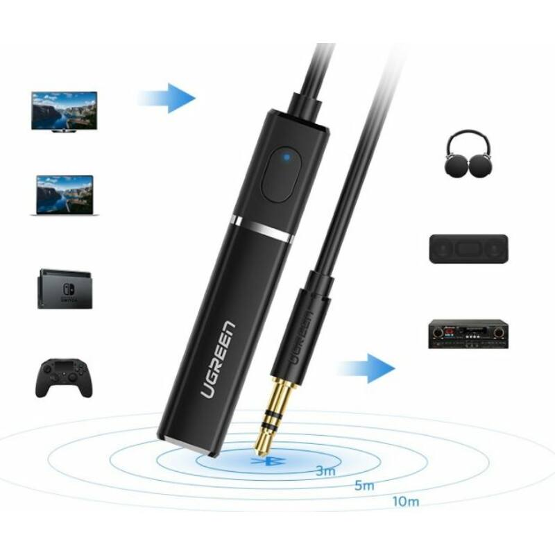 Bluetooth 4.2 Transmitter with 3.5 mm Plug(UGREEN)