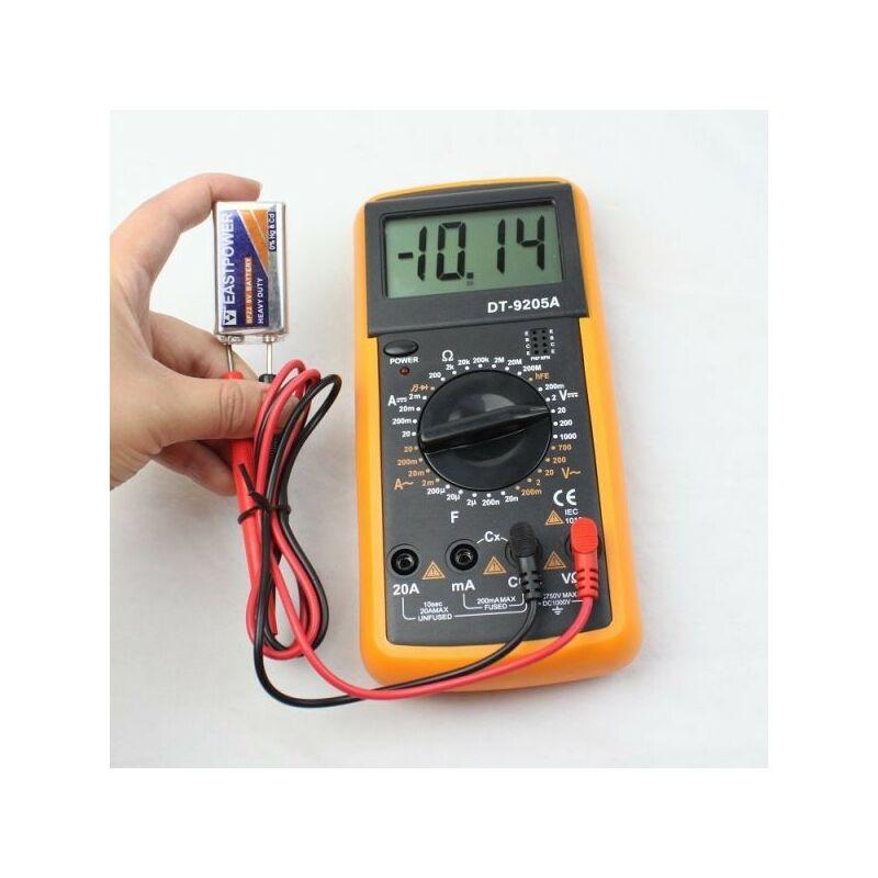 Digitális Multiméter DT9205A