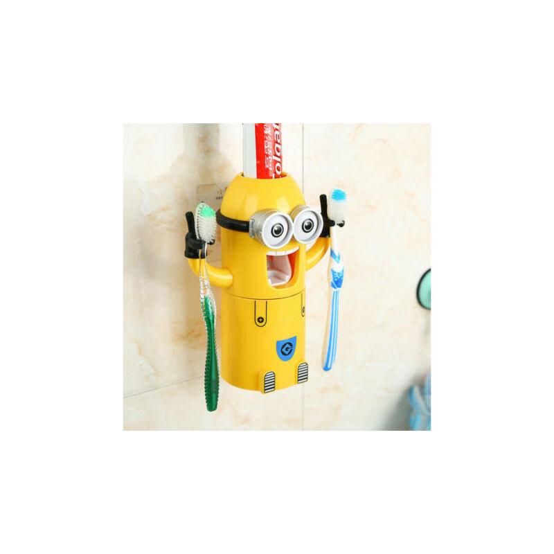 Minionos fogkrém adagoló / fogkefe tartó