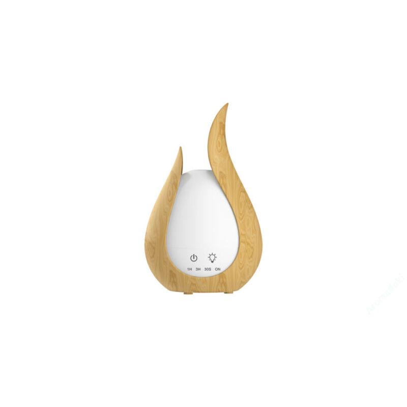 Elektromos aroma diffúzor, illóolaj párologtató és hangulatlámpa2in1