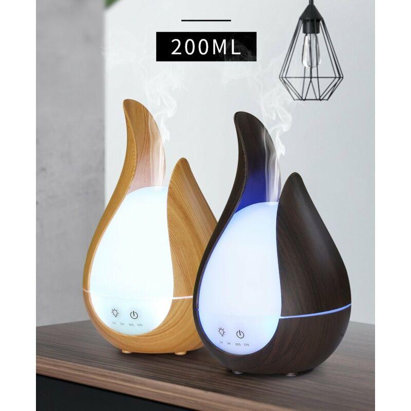 Elektromos aroma diffúzor 2in1, illóolaj párologtató és hangulatlámpa egyben