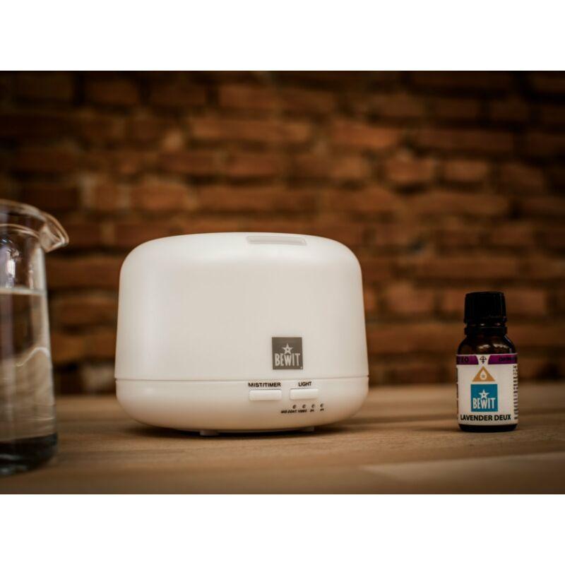 Elektromos aroma diffúzor, illóolaj párologtató és hangulatfény 300ml