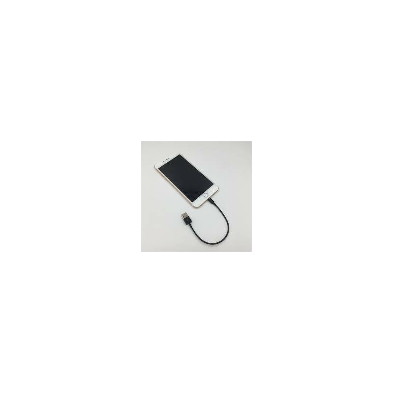 25 cm lightning töltőkábel  iPhone 5/5S/6/7/Plus/10