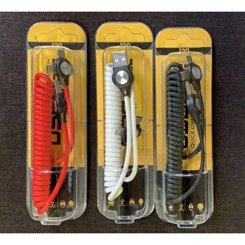 3in1 töltőkábel ( lightning, Type-C, micro USB)