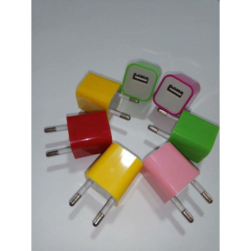 Hálózati USB-s töltőfej 1A