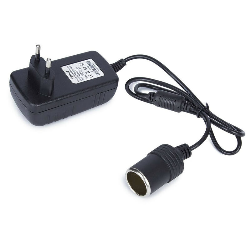 Hálózati adapter szivargyújtó csatlakozóval 12V/2A MD4R/C