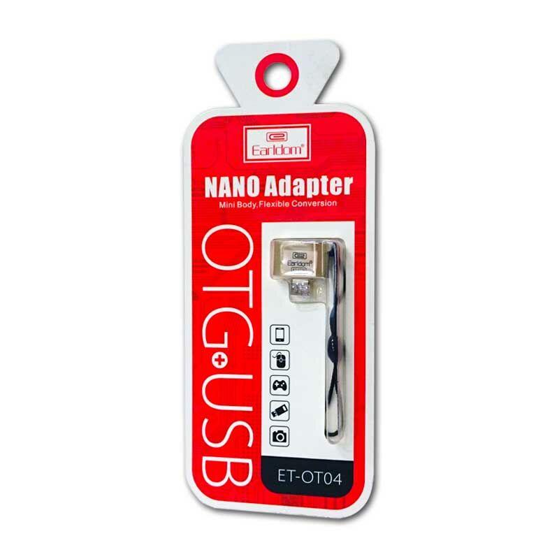 Earldom OTG adapter USB 2.0 - Micro USB átalakító ET-04