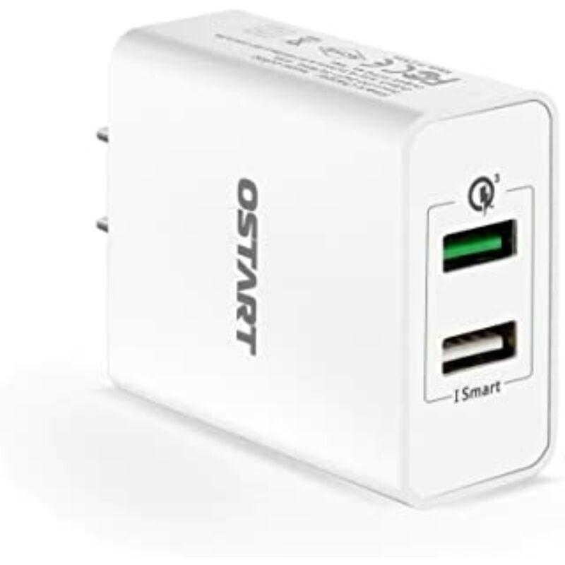 Hálózati töltőfej 2 X USB-s, 5.1A