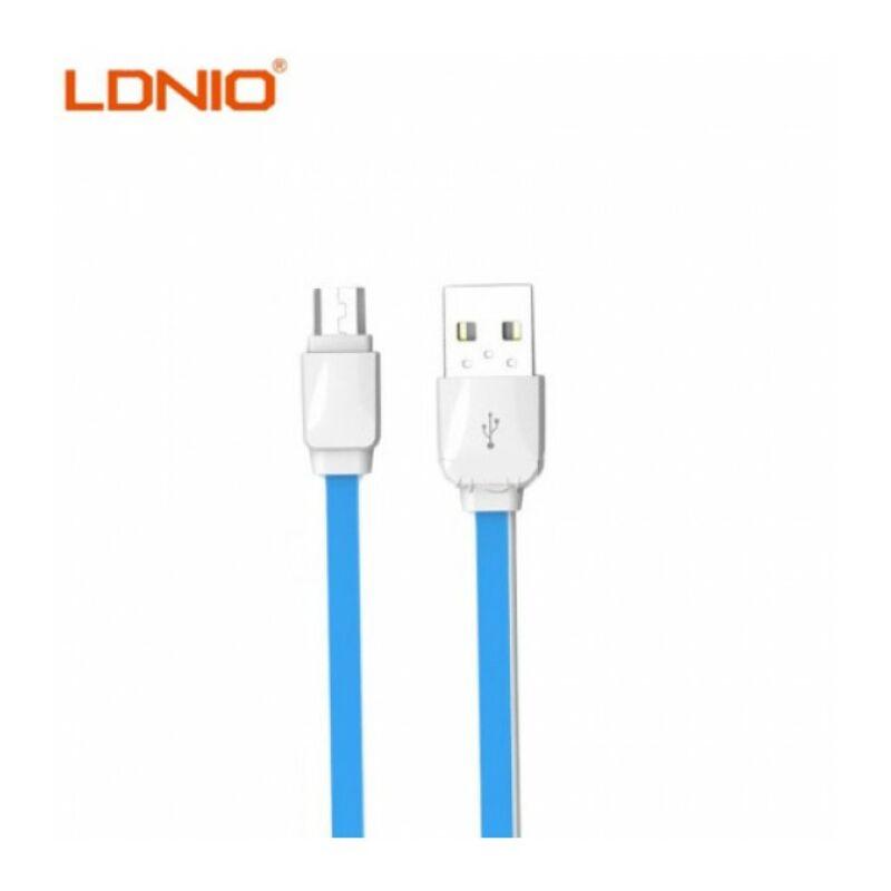 Ldnio XS-07 micro USB-s gyors töltő-és adatkábel Android készülékhez 1m