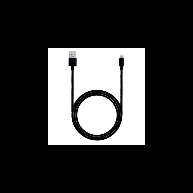 Eredeti gyári Lightning – USB kábel (1 m) iPhone - fekete