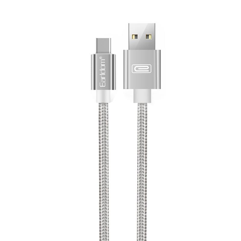 Earldom töltőkábel Type C - 1m EC-001C