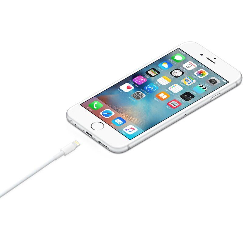 Eredeti gyári Apple Lightning – USB kábel (1 m) iPhone 5/5S/6/6Plus/7  (MD818ZM/A)
