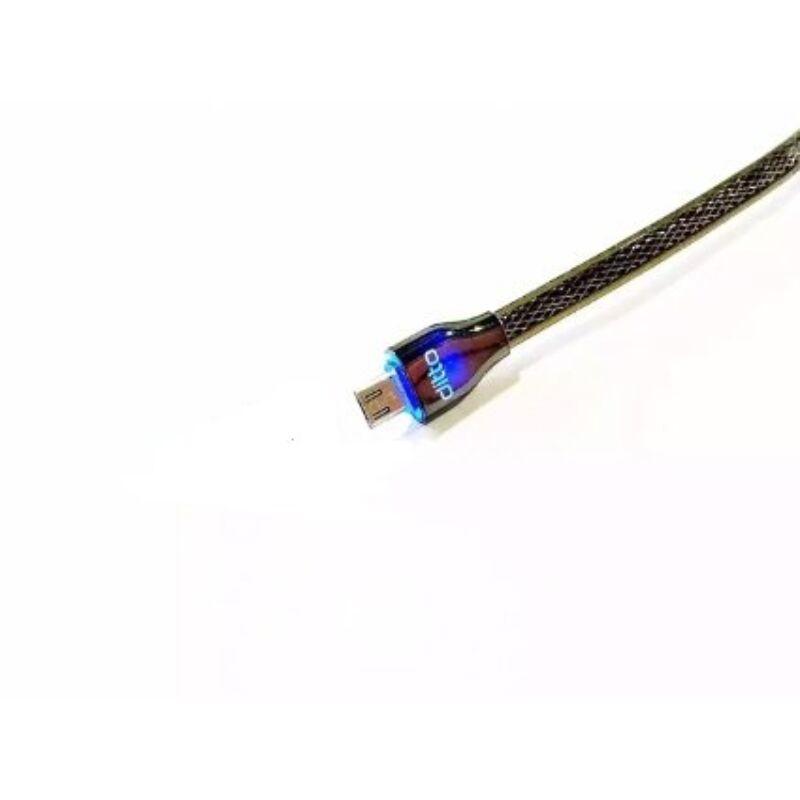Ditto Safe&Speed LED-es gyorstöltő-és adatkábel micro USB 1m