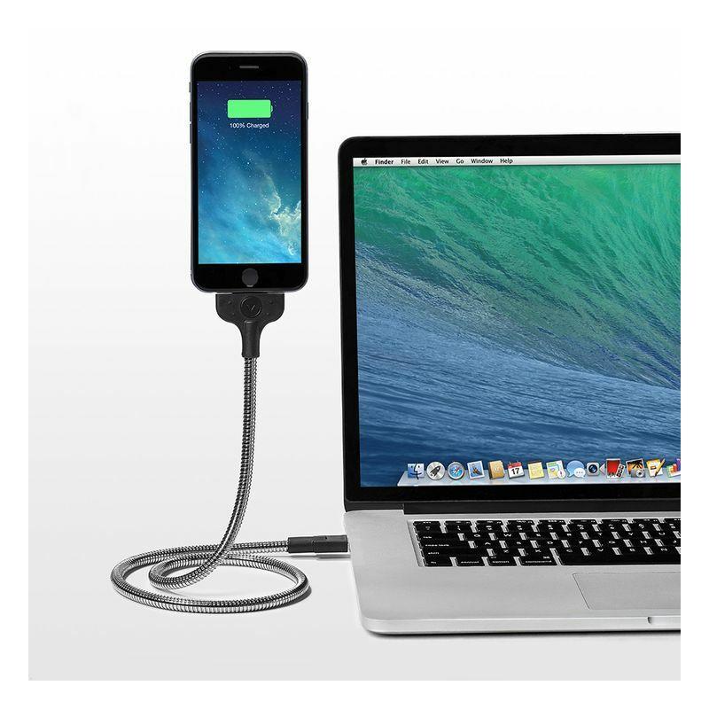 Flexibilis android/micro USB vagy iOs kábel