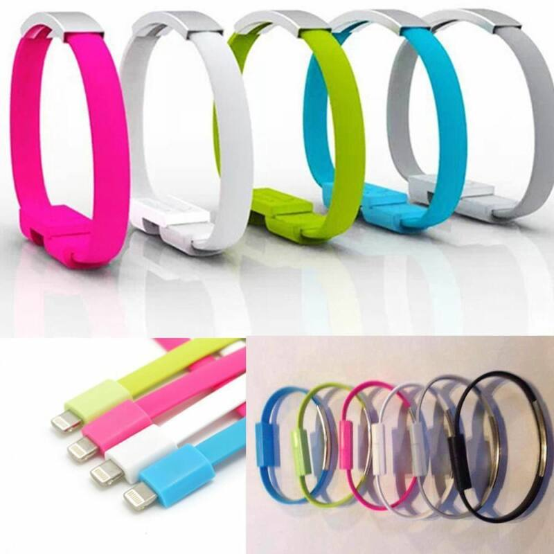 USB karkötő töltő-és adatkábel Iphone-hoz